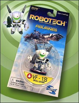 Robotech Super-deformed figure VF-1S Skull leader