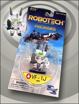 Robotech Super-deformed figure VF-1J Rick