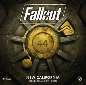 Fallout Board Game Expansion Set New California - English