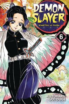 Demon Slayer: Kimetsu no Yaiba vol 06 GN Manga