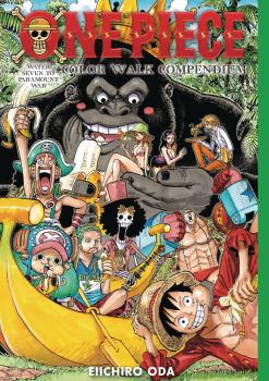 One Piece Color Walk Compendium: Water Seven to Paramount War