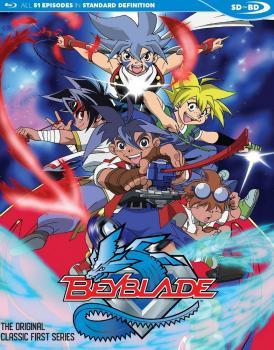 Beyblade Blu-Ray
