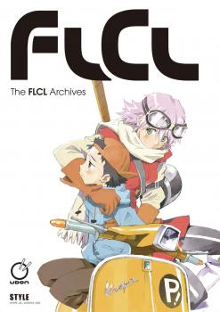 FLCL Archives Illustration book