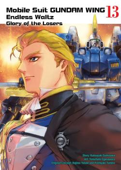 Gundam Wing vol 13 Glory of The Losers GN Manga