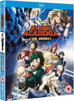 My Hero Academia Movie Two Heroes Blu-Ray UK