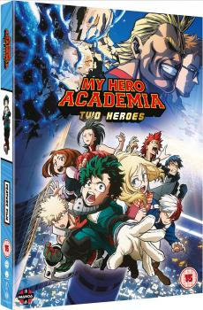 My Hero Academia Movie Two Heroes DVD UK