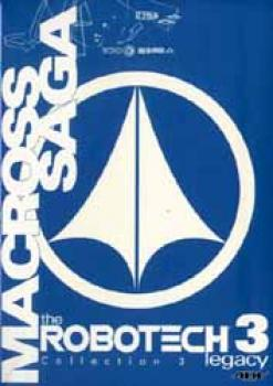 Macross saga 3 The Robotech legacy 3 DVD set