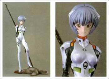 Neon genesis evangelion Rei Ayanami resin statue