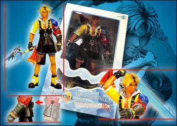 Final Fantasy 10 Tidus PVC Action Figure (Japanese version)