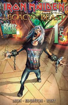 IRON MAIDEN LEGACY O/T BEAST VOL 2 NIGHT CITY #1 CVR A AKIRANT