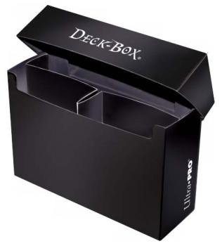 Ultra Pro - Deck Box Solid - Oversized - Black