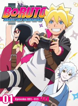 Boruto Naruto Next Generations Set 01 DVD