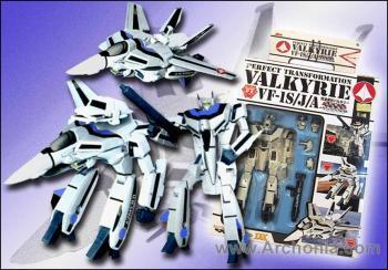 DX Macross Transformable Figure Valkyrie VF-1S