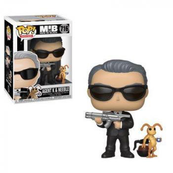 MEN IN BLACK POP & BUDDY VINYL FIGURE - AGENT K & NEEBLE