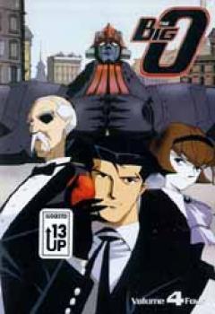 Big O vol 4 DVD