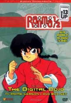 Ranma 1/2 Season 01 Digital dojo DVD boxed set