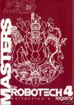 Macross saga 4 The Robotech legacy Masters 3 DVD set