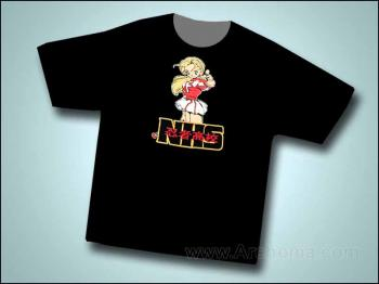 Ninja high school Asrial T-shirt L