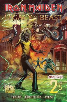 IRON MAIDEN LEGACY O/T BEAST VOL 2 NIGHT CITY #2 CVR A TBD