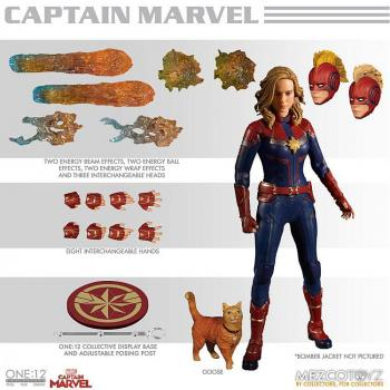 Captain Marvel Action Figure - Captain Marvel 1/12