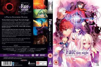 Fate Stay Night Heaven's Feel I Presage Flower DVD UK