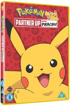 Pokemon Partner up with Pikachu! DVD UK