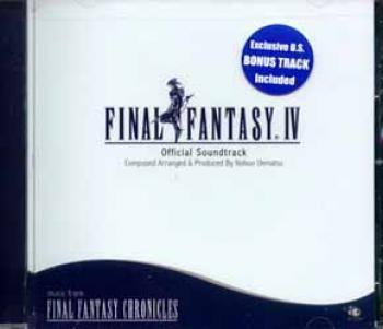 Final Fantasy IV official soundtrack CD