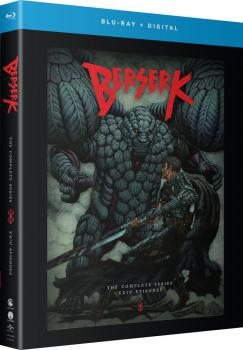 Berserk TV Complete Series Blu-Ray