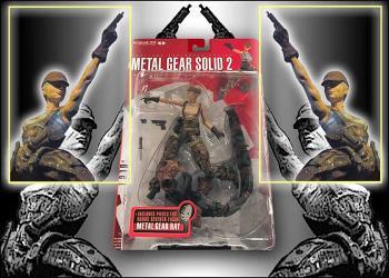 Metal gear solid 2 Sons of liberty figure Olga