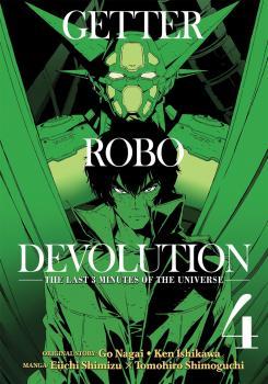 Getter Robo Devolution vol 04 GN Manga