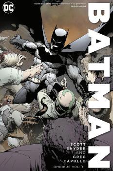 BATMAN BY SNYDER & CAPULLO OMNIBUS VOL. 01 (HARDCOVER)