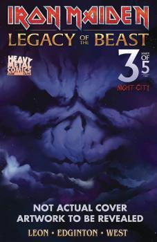 IRON MAIDEN LEGACY O/T BEAST VOL 2 NIGHT CITY #3 CVR B TBD