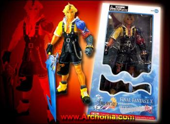FFX Tidus 12 inch action figure