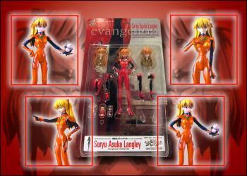 Neon genesis evangelion Asuka Langley action figure