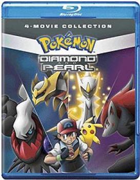 Pokemon Diamond And Pearl Movie 4-Pack Blu-Ray