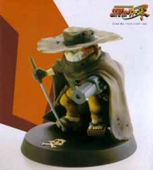 Great samurai Tochiro resin statue