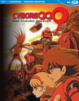 Cyborg 009 The Cyborg Soldier Blu-Ray