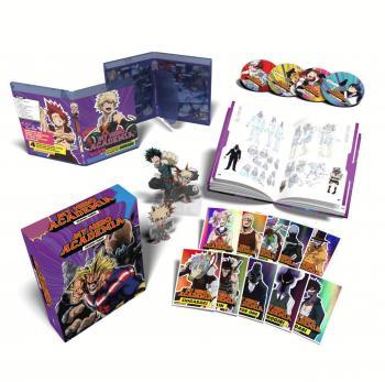 My Hero Academia Season 03 Part 01 DVD/Blu-Ray UK Collector's Edition