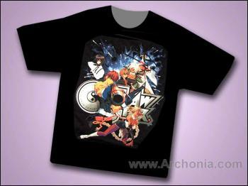 Outlaw star Odd bounty T-shirt L