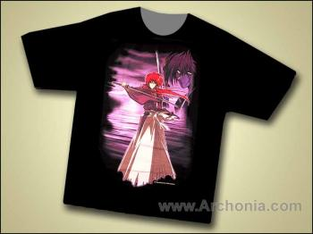 Rurouni Kenshin Meiji swordsman T-shirt XL