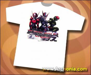 Bubblegum crisis Knight sabers T-shirt L