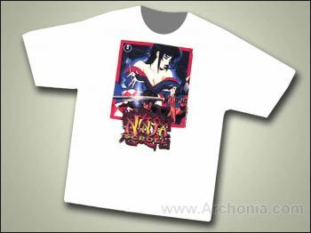 Ninja scroll Kagero and Jubei T-shirt L