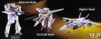 Macross Transformable Action figure Die Cast VF-1S