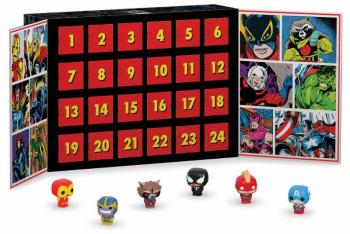 MARVEL POCKET POP ADVENT CALENDAR (24 MINI FIGURES)
