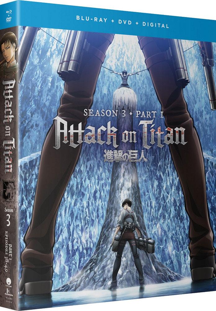 Buy BluRay - Attack On Titan Season 03 Part 01 Blu-Ray/DVD - Archonia.com
