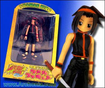 Shaman King Real figure with panel deoration A