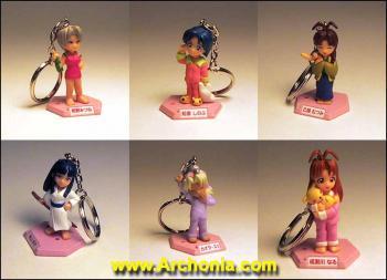 Love Hina Pyjama Style Key Holder C (Kaolla Su)