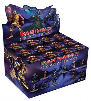 IRON MAIDEN LEGACY OF THE BEAST MYSTERY FIGURE 10 CM (FULL DISPLAY OF 12 FIGURES)