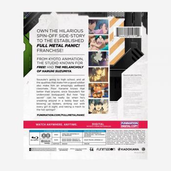 Full Metal Panic? Fumoffu Classics Blu-Ray