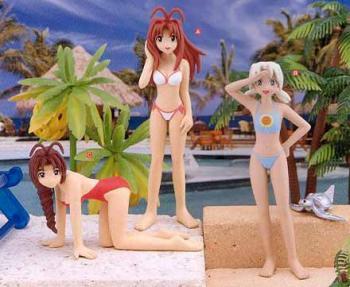 Love Hina Summer beach collection 1 figure C (Mutsume)